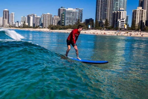 surfer paradise green wave